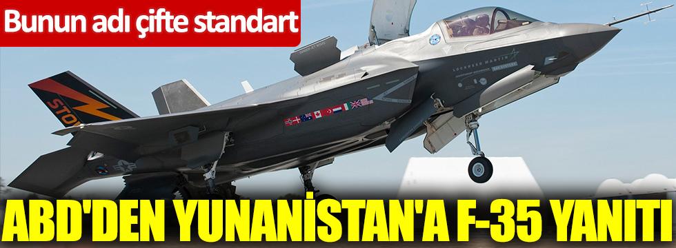 ABD'den Yunanistan'a F-35 yanıtı! Bunun adı çifte standart