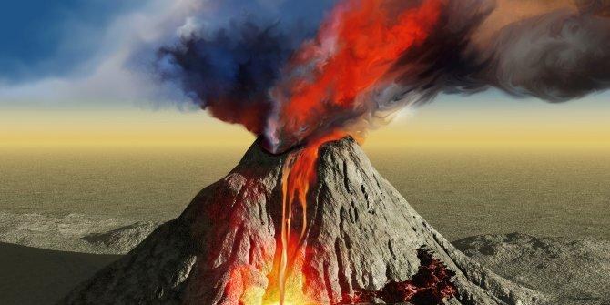 Yanardağ 8 saatte 2 kez patladı
