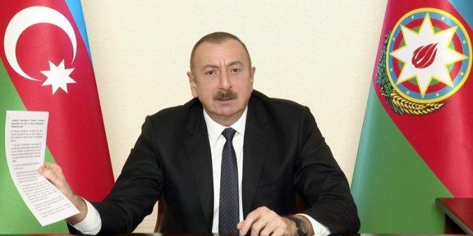Aliyev'den Fransa'ya tarihi ayar