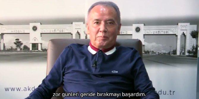 Hastalığı yenen Antalya Büyükşehir Belediye Başkanı Muhittin Böcek'ten ilk video