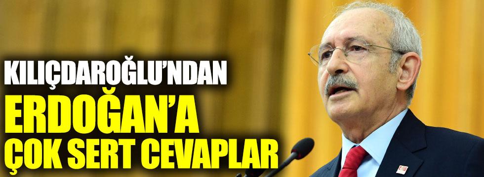 Kemal Kılıçdaroğlu'ndan Erdoğan'a çok sert cevaplar