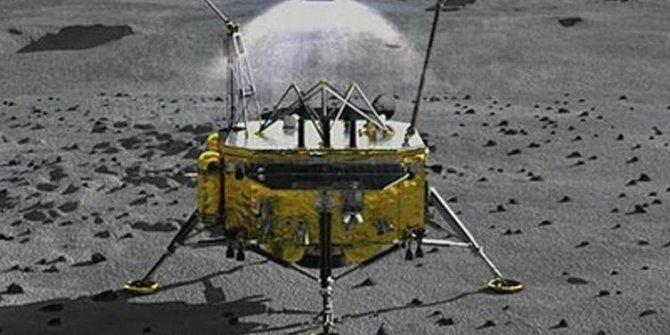 Çin'den uzayda dev hamle! İnsansız uzay aracı Ay'a iniş yaptı
