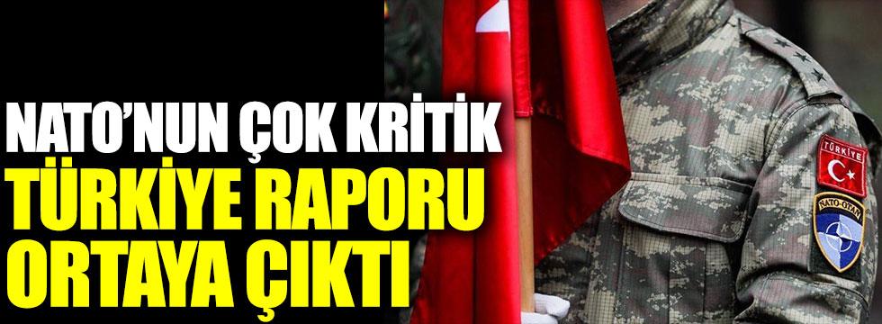 NATO'nun çok kritik Türkiye raporu ortaya çıktı
