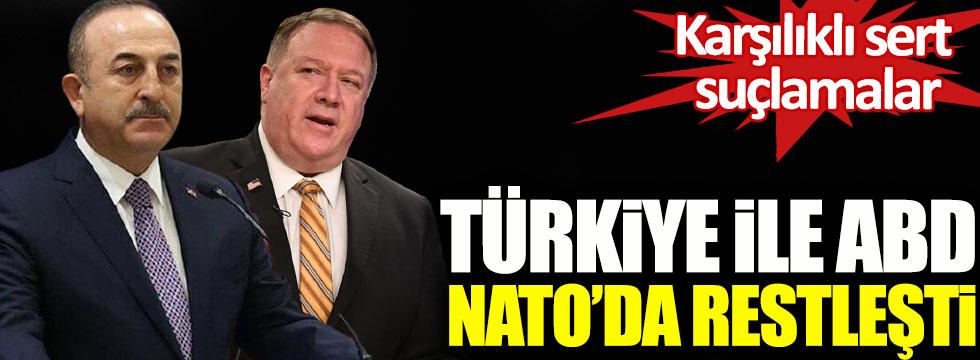 Türkiye ile ABD NATO toplantısında restleşti, karşılıklı sert suçlamalar!