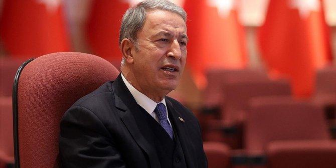 Bakanı Akar: Türk ve Rus subayları Karabağ'da ateşkesin kalıcı hale gelmesi için beraber görev yapacak