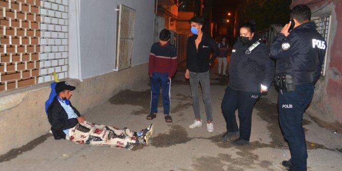 Kısıtlamanın ilk saatlerinde Adana'da olay