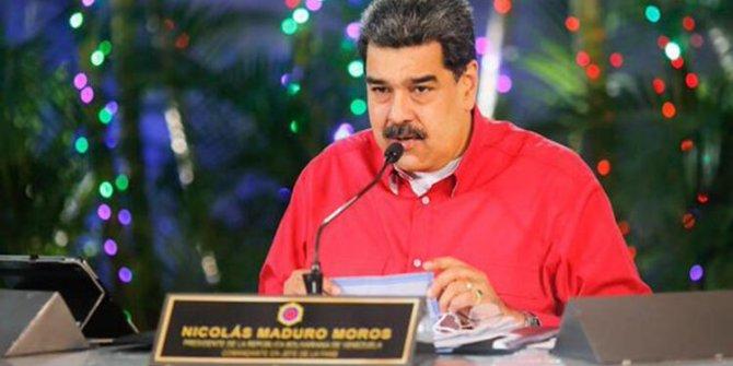 Venezuela Devlet Başkanı Maduro'dan şok çıkış