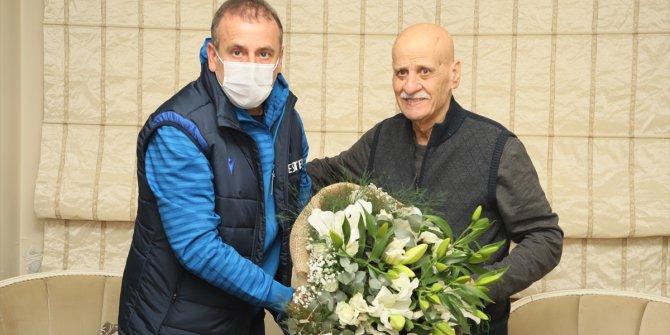 Abdullah Avcı'dan Ahmet Suat Özyazıcı'ya ziyaret