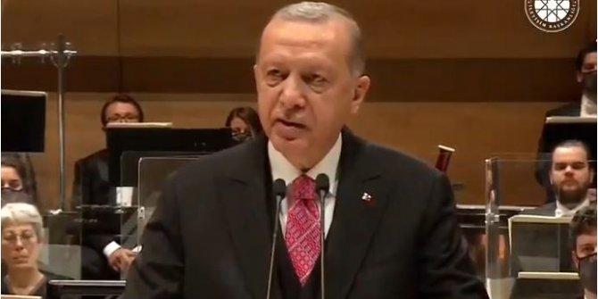 Cumhurbaşkanı Erdoğan, Senfoni Orkestrası binası açılışında konuştu