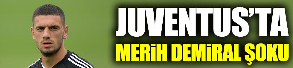 Juventus'ta Merih Demiral şoku