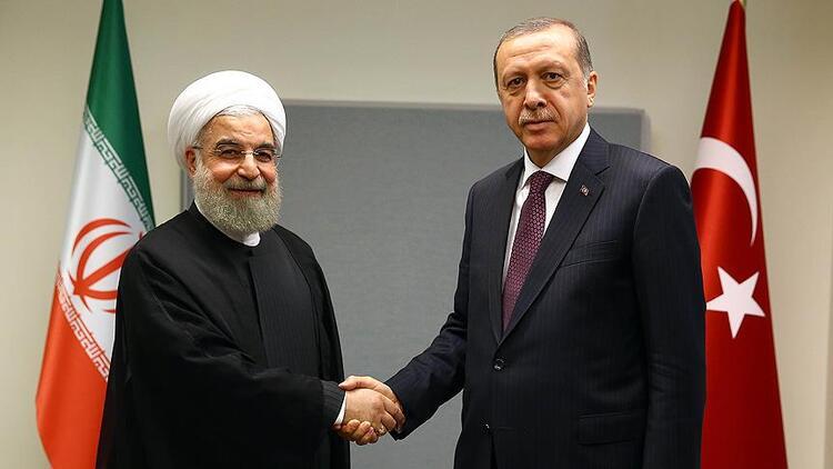 Erdoğan, Ruhani ile telefonda görüştü