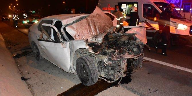 İzmir'de feci kaza! Tam 300 metre savruldu, yaşam mücadelesi veriyor