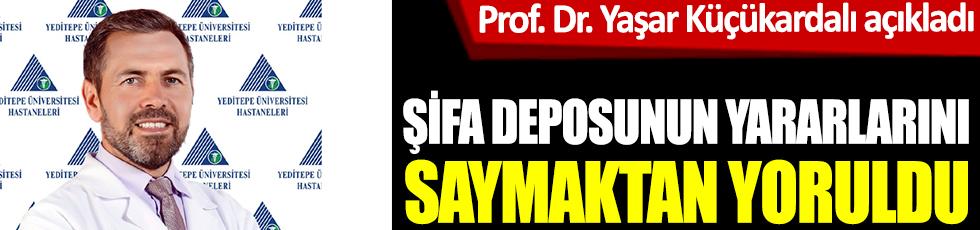 Prof. Dr. Yaşar Küçükardalı açıkladı. Şifa deposunun yararlarını saymaktan yoruldu