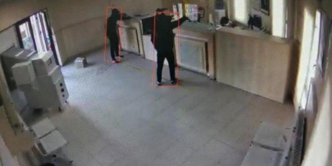 PTT'de silahlı soygun
