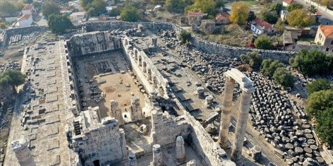 Apollo Tapınağı'ndaki su sızıntısına çare bulundu