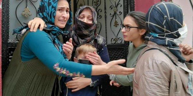 Mahallenin kadınları korkudan birbirlerine sarıldı. Ne olduysa 1 saatte oldu