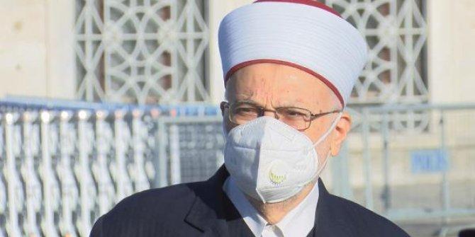 Erdoğan'ın katıldığı Cuma namazında dikkat çeken detay