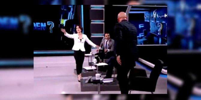 Habertürk'te başladı Haber Global'de patladı. Moderatör çıldırdı .Erdal Aksünger ile Serkan Toper'den dozunu kaçıran tartışma. Stüdyoyu terk etti