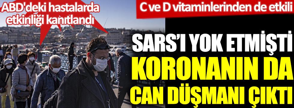 Prof. Dr. Osman Erk açıkladı. SARS'ı yok etmişti, koronanın da can düşmanı çıktı. C ve D vitaminlerinden de etkili
