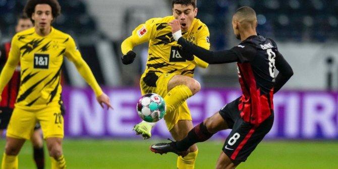 Borussia Dortmund ile Eintracht Frankfurt puanları paylaştı