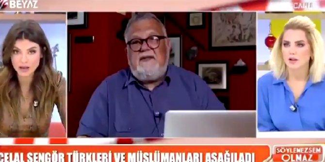 Beyaz TV'de sosyal medyanın gündemine oturan Celal Şengör gafı