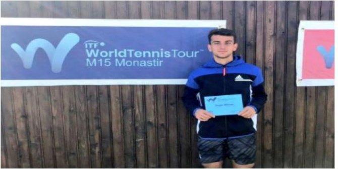 Ergi Kırkın, Tunus'ta ikinci kez şampiyonluk ipini göğüsledi
