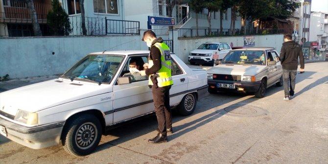Sokağa çıkma yasağını ihlal edenlere 47 bin lira ceza kesildi