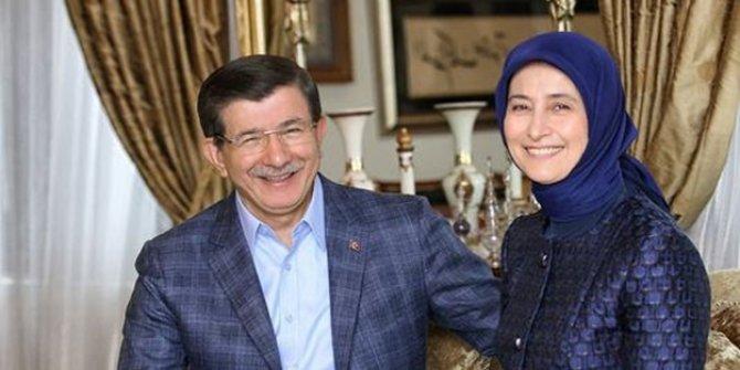 Gelecek Partisi Genel Başkanı Ahmet Davutoğlu'nun eşi Sare Davutoğlu korona virüse yakalandı
