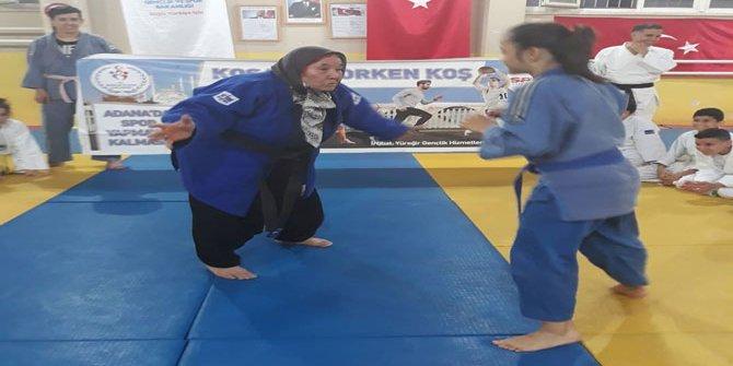Judocu nine koronaya yenildi. 80 yaşında judoyla başlamıştı.