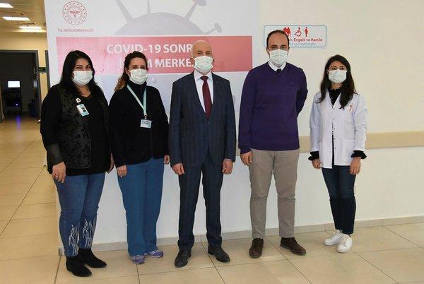 Türkiye'de bir ilk! Korona virüsü atlatanlar için İzlem Merkezi açıldı