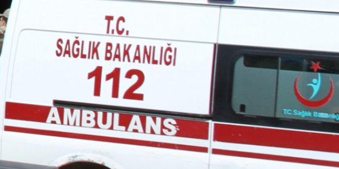 Malatya'da askeri araç devrildi