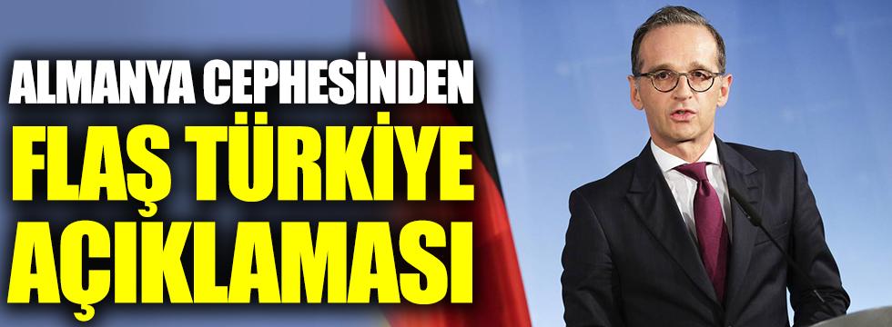 Almanya cephesinden flaş Türkiye açıklaması
