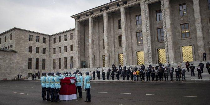 Eski Turizm Bakanı Gürpınar için TBMM'de cenaze töreni