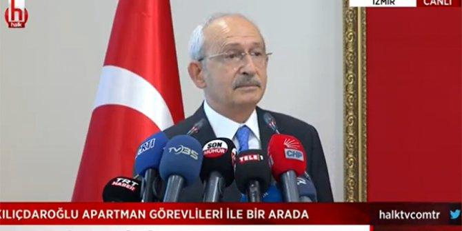 Kılıçdaroğlu apartman görevlilerine seslendi