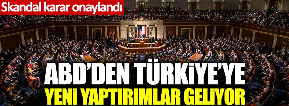 Skandal karar onaylandı! ABD'den Türkiye'ye yeni yaptırımlar geliyor