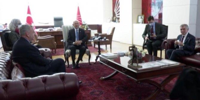 Kılıçdaroğlu, Almanya Büyükelçisi Jürgen Schulz'u kabul etti