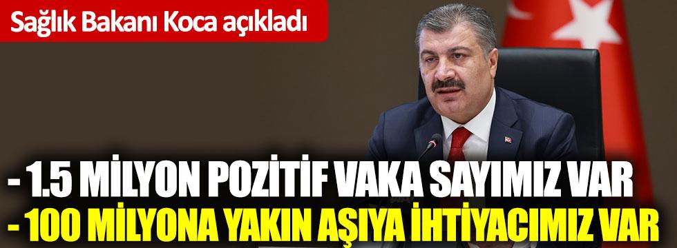 Sağlık Bakanı Fahrettin Koca'dan flaş açıklamalar