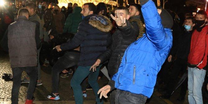 Protesto gösterileri ortalığı karıştırdı