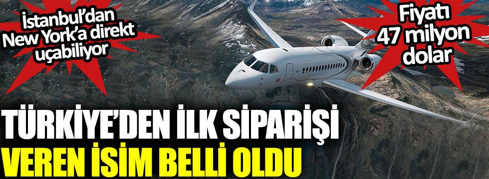 Dassault'un 47 milyon dolarlık özel jetini Türkiye'den ilk sipariş eden isim Mehmet Cengiz oldu, jet İstanbul'dan New York'a direkt uçabiliyor