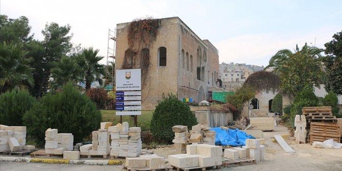 Şanlıurfa'daki Sakıbın Köşkü gastronomi merkezine dönüştürülüyor