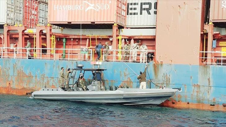 Libya'da alıkonulan Türk gemisi serbest kaldı