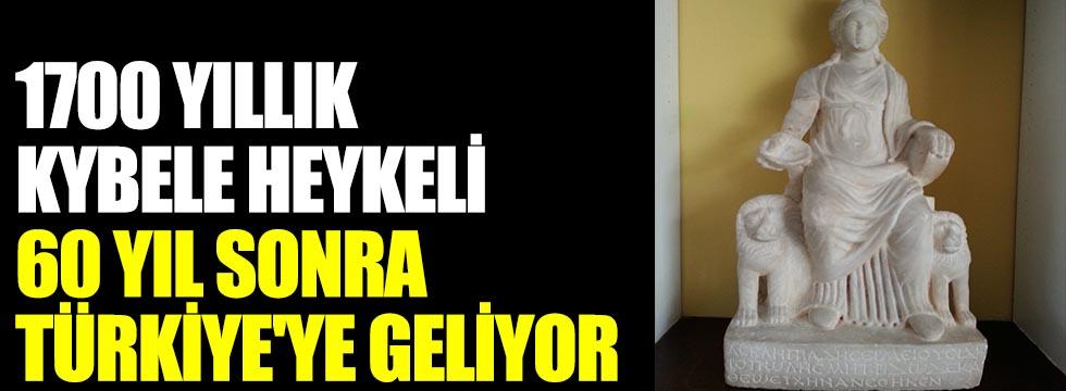 1700 yıllık Kybele Heykeli, 60 yıl sonra Türkiye'ye geliyor