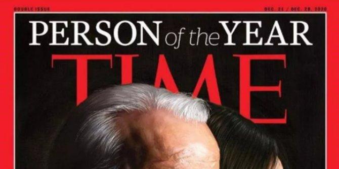 """Time Dergisi, Joe Biden ve Kamala Harris'i """"Yılın Kişisi"""" seçti"""