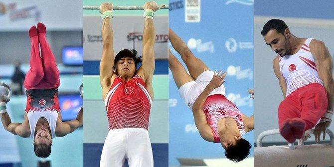 Milli sporculardan Avrupa Erkekler Artistik Cimnastik Şampiyonası'nda 6 madalya