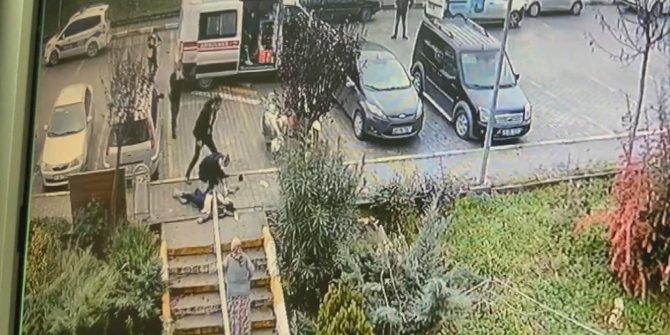 Tuzla'da kadın cinayeti. Koca dehşeti saniye saniye kamerada