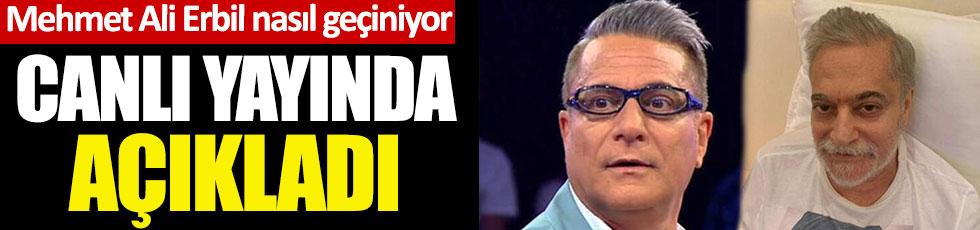 Şovmen Mehmet Ali Erbil nasıl geçindiğini canlı yayında açıkladı