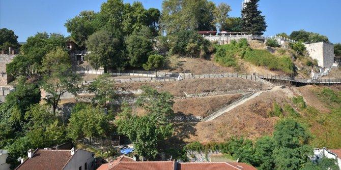 Payitahtın idare merkezi Bey Sarayı gün yüzüne çıkıyor