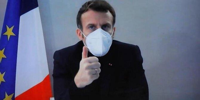 Fransa Cumhurbaşkanı Emmanuel Macron, korona virüsü yendi