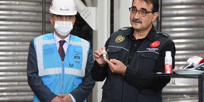 Bakan Fatih Dönmez açıkladı, Türkiye'de ilk kez lityum üretimi başlıyor