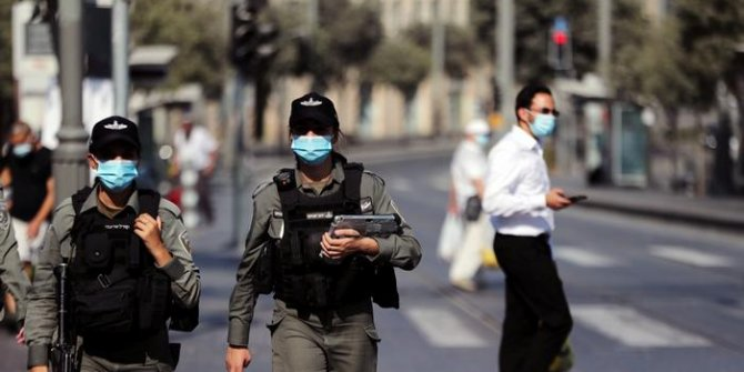 İsrail korona virüs karantinasına girdi